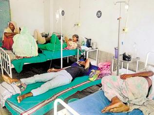 Moga diarrhoea outbreak: 36 more patients admitted in a single day
