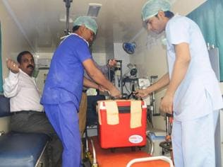 Liver transported from Lucknow to Delhi saves  a life