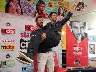 Dishoom, dance, action and masti with John Abraham and Varun Dhawan