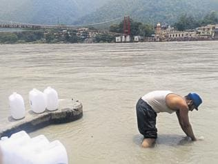 There flows a business: Health worries over bottled Ganga jal sold by govt