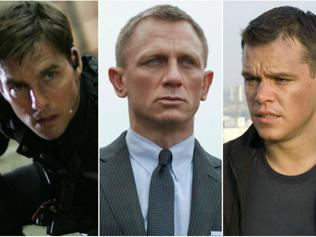 Eye spy the greatest movie spies of them all. Who's your pick?