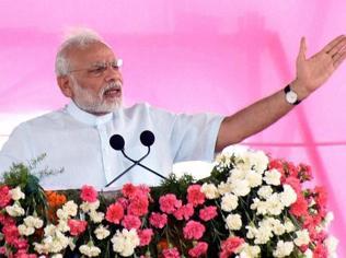Modi heads for Chandra Shekhar Azad's village, address rally in MP