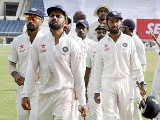 India go for an overhaul on uncertain day against West Indies