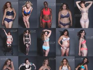 100 women in lingerie: Underneath We Are Women series is bold and beautiful