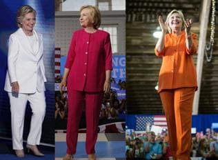 How Hillary Clinton is making a style statement with her powersuits