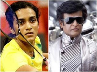 PV Sindhu has a new 'fan' and it's none other than Rajinikanth