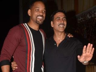 Is Akshay collaborating with Will Smith for a project? No, says the actor