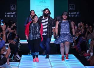 End of the skinny model?: Inside Lakme Fashion Week's first plus-size show