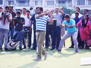 I learned to play golf a week before the shoot began: Nawaz on Freaky Ali