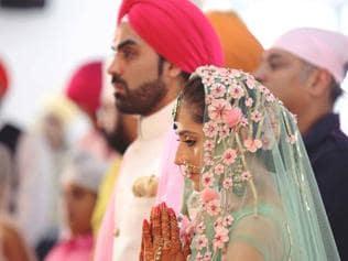 See pics: Hunar Hale and Mayank Gandhi's wedding was so stunning