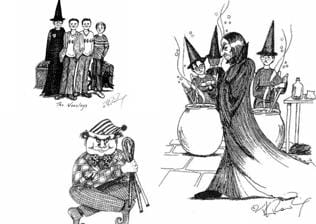 These wonderful original Potter sketches by Rowling are a time machine