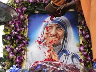 In pics: Pope declares Mother Teresa a saint and model of mercy