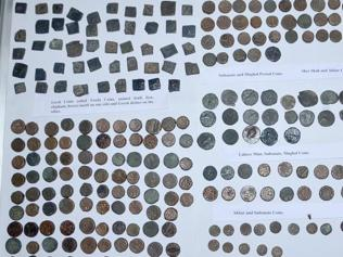 When train from Pakistan brought coins 2000 years old!