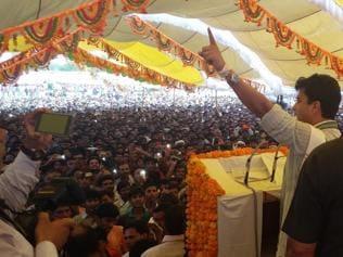 Jyotiraditya Scindia slams Modi, says people need aata, not data