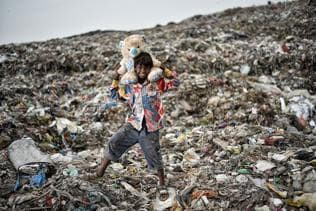 HT Ground Glass: Finding dignity amid the dumping ground at Ghazipur