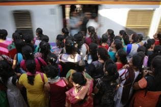4-day week for office-goers to cut train congestion?