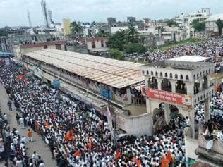 The Maratha movement is driven by historical memory