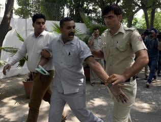 Ink-attacker Shukla an old AAP 'critic'