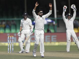 Did Jadeja miss a hattrick trick in the Kanpur Test against New Zealand?