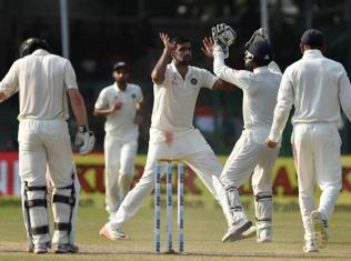 Twitter reacts to Ashwin becoming the fastest Indian bowler to take 200 wickers