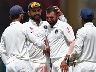 Childhood habit pays dividend for Mohammed Shami against New Zealand