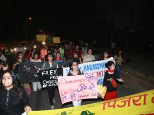 Breaking free: Fighting against hostel curfew at Delhi University