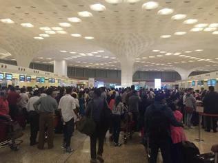 Airports check-ins