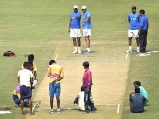 India vs New Zealand: Kanpur pitch lives up to Virat, Kumble's expectations