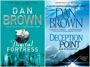 Why does no one care about these other two Dan Brown books?
