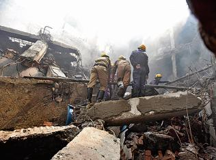 Delhi: Fire safety norms flouted in Narela factory