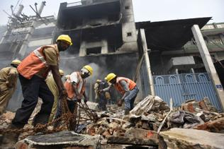 Narela fire rescue ops delayed by lack of equipment, coordination
