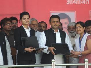 Akhilesh to meet free laptop beneficiaries to assess impact of initiative