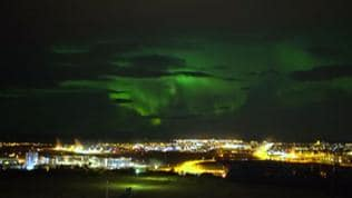 Watch | Dancing Northern Lights brightened Iceland night sky