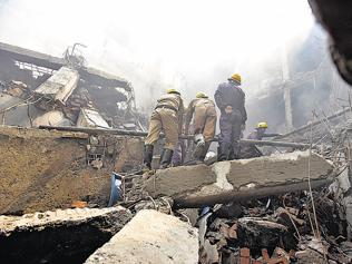 Ill-equipped and underpaid, Delhi firefighters dodge death every day
