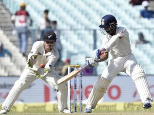 India caught off-guard by Eden pitch as New Zealand take the honours on Day 1