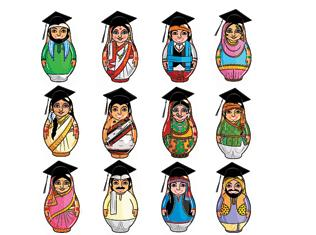 Why do Jains fare well in higher education while  other communities lag?