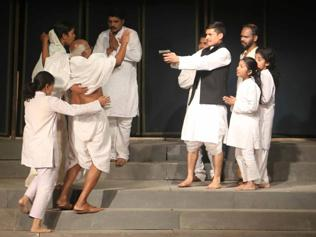 In pics: First-ever play on Patel's hands-on man VP Menon in integration staged