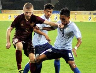 India gear up for U-17 World Cup with BRICS football