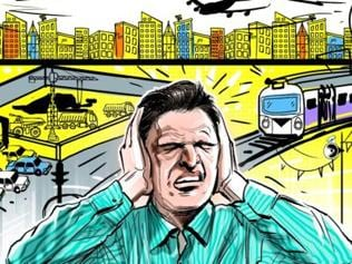 Honking during peak hours on Mumbai roads a health hazard