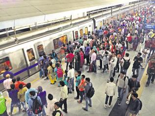 Delhi Metro premises as polluted as open spaces, say experts