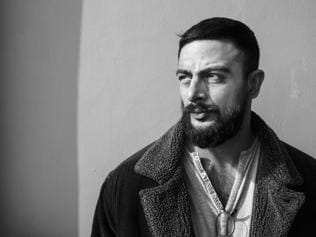 He may be brawny, but Arunoday Singh is as mushy as they come