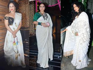 When festivities went white at Bollywood Diwali bashes