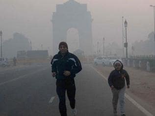 Delhi's pollution levels higher early morning; joggers, children at most risk