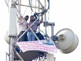 youth demanding jobs