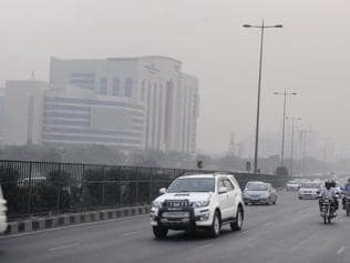 Gurgaon visibility improves but not air quality