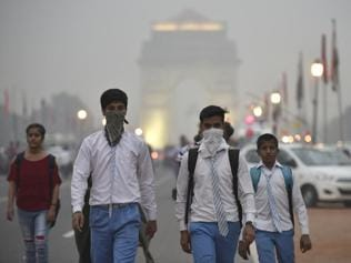 Delhi pollution: Smog and dust in air, but little action on the ground