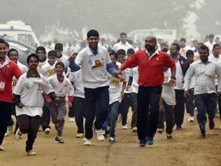 Salwan cross-country race