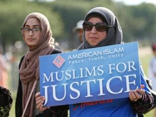 Trump's 'call' to ban Muslims restored on his campaign website
