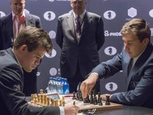 Magnus Carlsen creates buzz with new 'Trompowsky' opening in world championship
