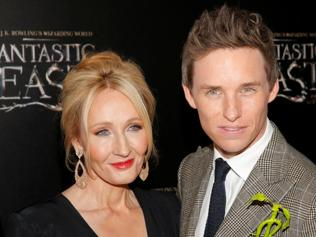 Redmayne comes Rowling into Manhattan for the Fantastic Beasts premiere